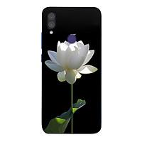 Ốp điện thoại dành cho máy Xiaomi Redmi Note 7 - Sen trắng MS ABPHA002