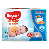 Tã Quần Sơ Sinh Huggies Dry Newborn S24 (24 Miếng)...