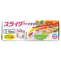 Túi zip đựng thực phẩm Daiwa size S đáy rộng (15 cái)