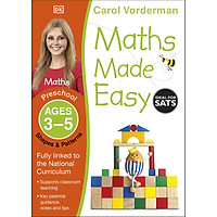 Sách: MATHS MADE EASY SHAPES AND PATTERNS AGES 3-5