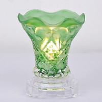 Đèn xông tinh dầu thuỷ tinh cao cấp - Tinh dầu hữu cơ Oresoi