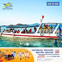 Tour Sài Gòn đi BÌNH BA - BÌNH HƯNG  - BÌNH TIÊN - NINH CHỮ 3N3Đ - tiệc BBQ hải sản & tôm hùm - Resort cao cấp - Ngắm san hô