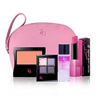 Bộ trang điểm mắt môi ZA (Killer Big Eyes VI75 4g + Ví Za + Cheeks Groovy 04 4g + Vivid Dare Lipstick 3.5g PK404 + Eye & Lip Make up Remover 30ml