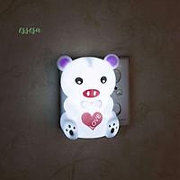 Đèn Ngủ/Đèn Trang Trí Cảm Ứng Hình Gấu - Hàng Chính Hãng