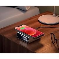 Đồng hồ để bàn kiêm sạc không dây cao cấp OLAPLE DCK2 - Hàng nhập khẩu