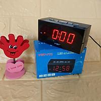 Đồng hồ Led báo thức để bàn nhỏ gọn