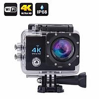 Camera hành trình Mẫu Mới 2018 xe máy Sport Cam A19 Wifi 4K có REMOTE