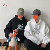 Áo nỉ mũ mặt trời cười C&H