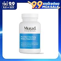 Viên giảm mụn Murad Pure Skin Clarifying Dietary Supplement hộp 120 viên