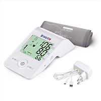 Máy đo huyết áp bắp tay cao cấp B.WELL MED 55 (Nhập khẩu 100% từ Thụy Sĩ)_Tặng Adaptor chính hãng