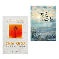 Combo Sách Tư Duy - Kỹ Năng Sống Nên Đọc: Jim Rohn - Chìa Khóa Thành Công + Để Có Một Tương Lai (Cẩm Nang Dẫn Lối Thành Công Dành Cho Mọi Người)