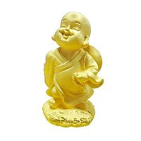 Hạnh Phúc Bình An phủ vàng 24K quà tặng mỹ nghệ KBP DOJI DJDE1602