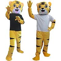 Mascot hoá trang Hổ vàng dễ thương