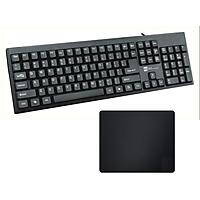 Bàn phím máy tính R8 1805 + Tặng lót chuột - Hàng nhập khẩu