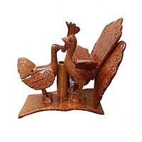 Tượng Công gỗ dừa