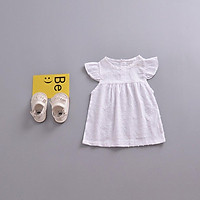 Ins infant explosion models summer white small fresh skirts Europe and America
