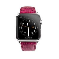 Dây đeo da bò Qialino Queen cho Apple watch-Hàng Chính Hãng