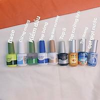 Base top cứng móng Vinimay các loại - dụng cụ nail