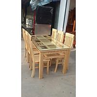 Bộ bàn ghế  ăn gỗ sồi 6 ghế  MS 5.3