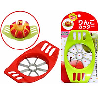 Bộ 3 dụng cụ cắt táo, tạo hình củ quả tiện lợi (Giao màu ngẫu nhiên) - Hàng Nội Địa Nhật