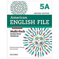 American English File 5A Multi-Pack with Online Practice and iChecker
