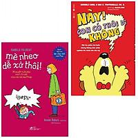 Combo sách làm cha mẹ hữu ích: Này, Con Có Thôi Đi Không! + Mè Nheo Dễ Xử Thôi (tặng kèm bookmark thiết kế aha)