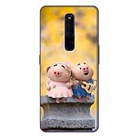 Ốp lưng điện thoại Oppo F11 Pro hình Heo Con Hạnh Phúc - Hàng chính hãng
