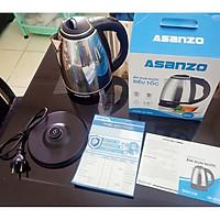 Ấm đun nước siêu tốc Asanzo SK-1800 1.8L hàng chính hãng