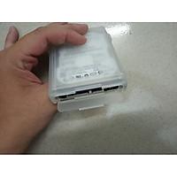 Hộp đựng ổ cứng laptop 2.5 inch chống mưa, chống bụi, có khe mở cổng Sata - Hàng nhập khẩu