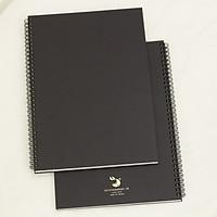 Sổ tay vẽ chì - Sketchbook - A4  - Bìa đen