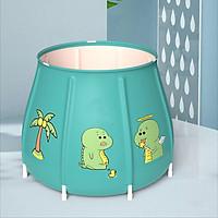 Bồn tắm ngâm người, thảo dược gấp gọn cho người lớn và trẻ nhỏ BP01