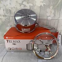 Quánh inox 3 lớp cao cấp đáy liền Tri-max XS EL-3745 size 16cm