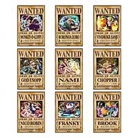 Poster truy nã Băng Hải Tặc Mũ Rơm ver 2 (Timeskip) - One Piece