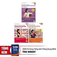 Combo 3 Bộ Sách Tiếng Anh Cô Mai Phương  (Tặng kèm bút chì Kingbooks)