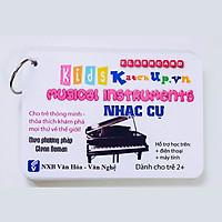 Bộ KatchUp Flashcard cho bé Tiếng Anh – Nhạc cụ – High Quality