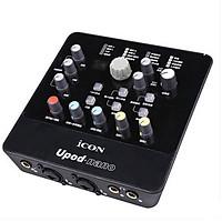 Combo Micro Livetream Takstar PC-K220 và Soundcard Upod Nano - Hàng Chính Hãng