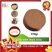 {GIÁ THẤP NHẤT} Viên Nén Bánh Nén Mụn Dừa Xơ Dừa 0.45Kg Dùng Trồng Rau Sạch Bằng Đất Sạch, Xơ Dừa Và Phân Bón Hữu Cơ