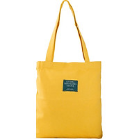 Túi Vải Tote Đeo Vai Living XinhStore - Vàng