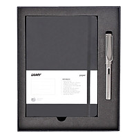 Gift Set Lamy Notebook A5 Softcover Black + Lamy Al-Star Graphite - GSNAl001