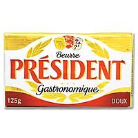 [Chỉ giao HN] - Bơ nhạt President - 125gr