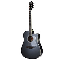 Mosen (DC) DC41BKM ballad corner guitar beginner entry instrument 41 inch accompaniment accompaniment cool black