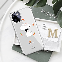 Ốp lưng điện thoại silicon in hình động vật phong cách hoạt hình dành cho iphone 5 / 6 / 7 / 8 / xr / x / xs / xs max / 11 / 11pro / 11pro max / 12 / 12 mini / 12 pro / 12 pro max - A711
