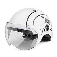Mũ Bảo Hiểm Có Kính Chông Bụi UV400