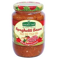 Xốt Spaghetti - Thịt Bò Golden Farm (820g)