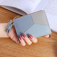 Ví bóp nữ   Ví nữ cầm tay ngắn mini cao cấp nhiều ngăn giá rẻ V042301
