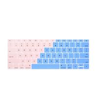 Miếng phủ bàn phím bằng silicon chống bụi, chống nước bảo vệ cho Macbook màu Ombre