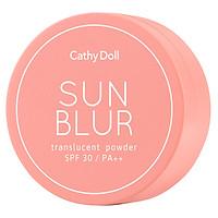 Phấn phủ trong suốt chống nắng Cathy Doll Sun Blur Translucent Powder  SPF30 PA+++ 4.5g