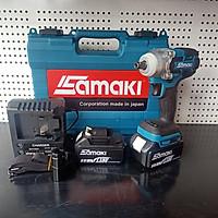 Máy bắn vít bu lông bằng pin 118V Samaki chính hãng, Máy  công nghệ không chổi than cực mạnh bền bỉ tiết kiệm pin