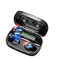 Tai Nghe Bluetooth 5.0 (Tai Nghe Không Dây) TWS S11 VINETTEAM - Nhỏ gọn - Chống Nước IPX5 - Nghe 90h - Tích Hợp Micro - Tự Động Kết Nối -Hỗ Trợ Sạc Không Dây Cho Dock Sạc- Có Túi Đựng Cao Cấp -Chính Hãng