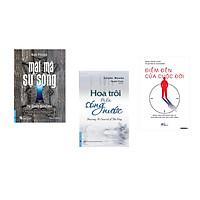 Combo 3 cuốn sách:  Mật Mã Sự Sống + Hoa Trôi Trên Sóng Nước + Điểm đến của cuộc đời